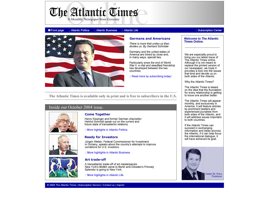 The Atlantic Times